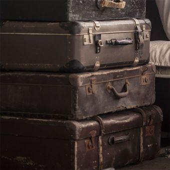 17 beste idee n over oude koffers op pinterest koffer decor vintage koffers en vintage - Ideeen deco blijven ...