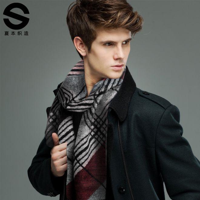 libro 2013 bufanda bufanda hombre estilo británico de otoño e invierno térmica bufanda silenciador