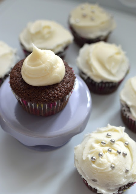 Crown Royal Whisky Cupcakes (aka Boozy Cupcakes) | kitchen frolic