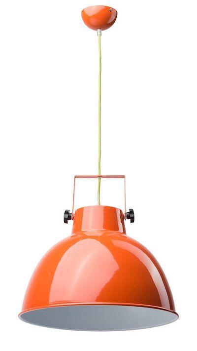 Lustra Megalopolis este ideala pentru toti cei care se afla intr-o metropola urbana si doresc sa iasa din anonimat. Reinterpretand stilul industrial cu o nota vesela, aceasta lustra este versatila si potrivita oricarui spatiu! #SomProduct #inspiring #comfort #urban #culture #orange #color #design #lighting