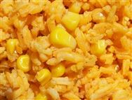 Yellow Rice and Corn -Arroz con Maiz