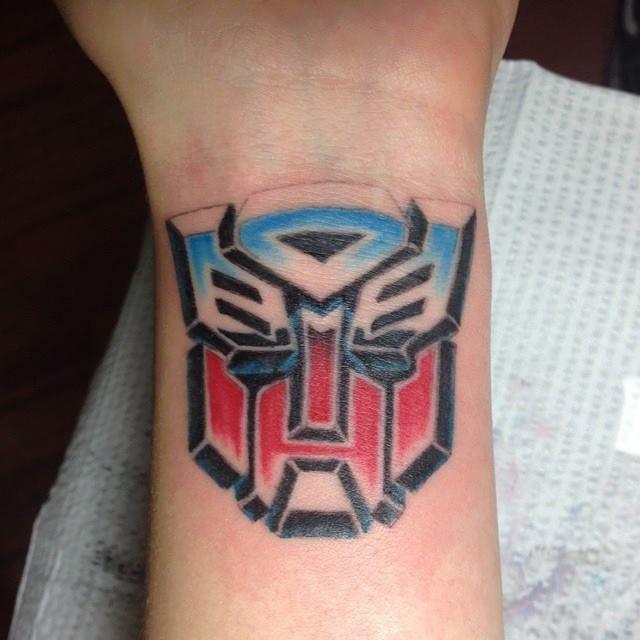 Transformer tattoo