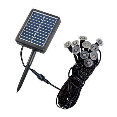 10 Light Mini Light String by Kenroy Home #Solar #ATGstores