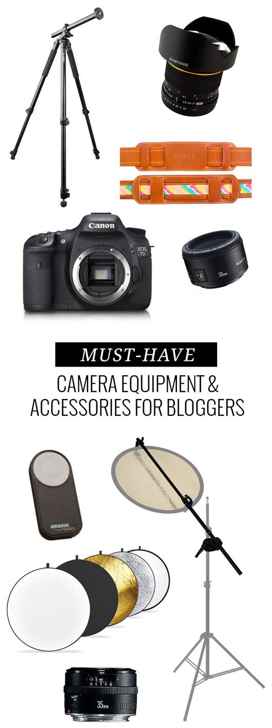 Must-Have Camera Equipment & Accessories For Bloggers | Dream Green DIY