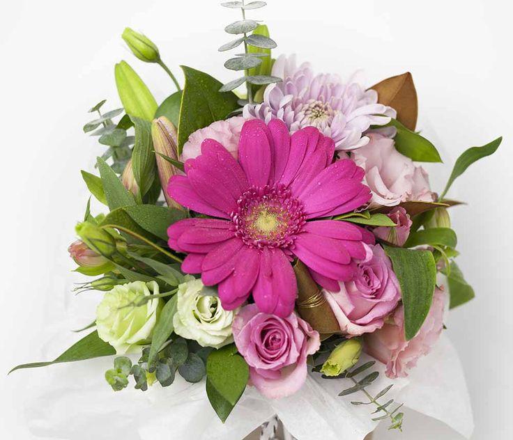 Pink Posy Box - Expressions Florist Cambridge NZ