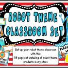 This robot themed classroom set contains all robot theme files in my store.  A great value as price is reduced from $16.50 if you buy the entire pa...