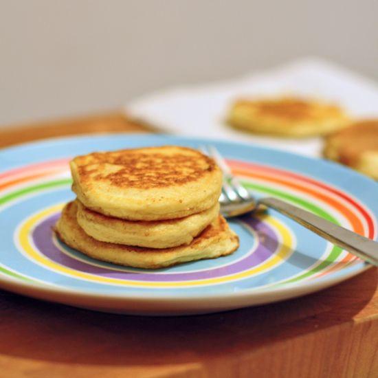 fluffy mashed potato pancakes