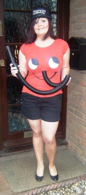Henry Hoover fancy dress