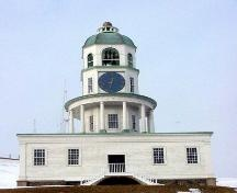 From the height of Citadel Hill you can scan all of Halifax - if there's no fog!