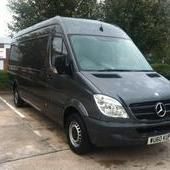 Mercedes Sprinter 313cdi lwb 4.3m 60 reg + warranty, Mercedes-benz ... Leicester for sale in Leicestershire, East Midlands :: Vans and Trucks