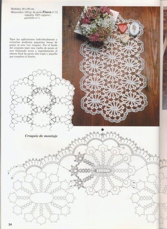Best 1000+ CROCHET images on Pinterest | Crochet doilies, Doilies ...