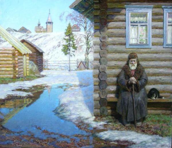 Русская деревня   535 фотографий
