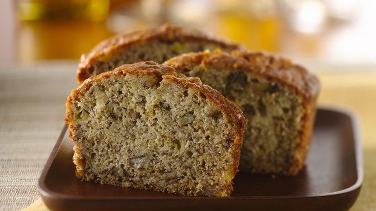 amazing!!! add a cinnamon swirl  Rich buttermilk, crunchy nuts and flavorful, ripe bananas make this banana bread tops.