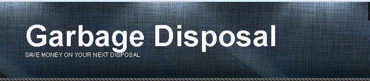 Seeking for the best garbage disposal, well then look no further, we have the best price for any garbage disposal.