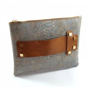 Artipel Fashion Snake Clutch