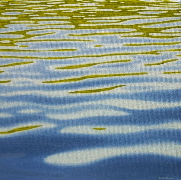 Summer Water Study 5 by Emily Bickell