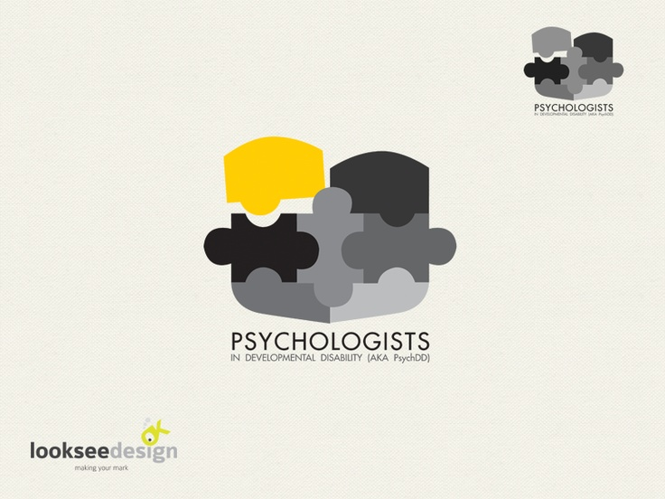 Psychologist in Developmental Disability - Logo designed by Looksee Design.