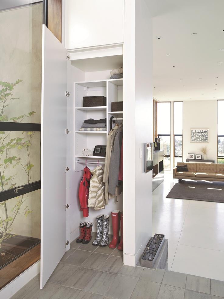 Foyer Closet Storage Ideas : Best entryway storage ideas images on pinterest mud