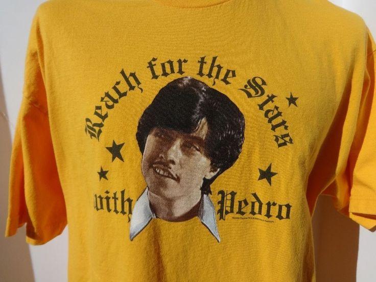 Vote Pedro T Shirt Napoleon Dynamite T shirt Size XL Pedro Sanchez for President #MightyFineTs #CrewNeck