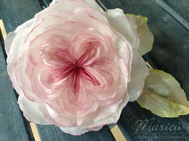 Flores de oblea - Centro de Artes Culinarias Maricú