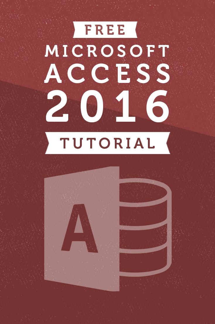 Access 2016 is a relational database application in the Microsoft Office 2016 suite that lets you enter, manage and run reports on large amounts of data. In this tutorial, you'll learn the essential skills needed to use a database, including entering data into forms and tables, running queries to search data, and producing meaningful reports.