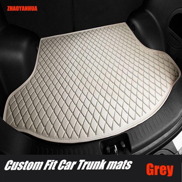 ZHAOYANHUA Car trunk mats for Mitsubishi Galant ASX Pajero