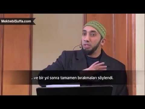 Barmenlik Yaparken Müslüman Oldu [Nouman Ali Khan] - YouTube