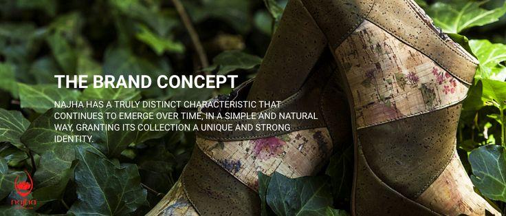 THE BRAND CONCEPT  Discover the world NAJHA  #Najha #najhashoes #corknajha #najhavegan #najhawalkincork