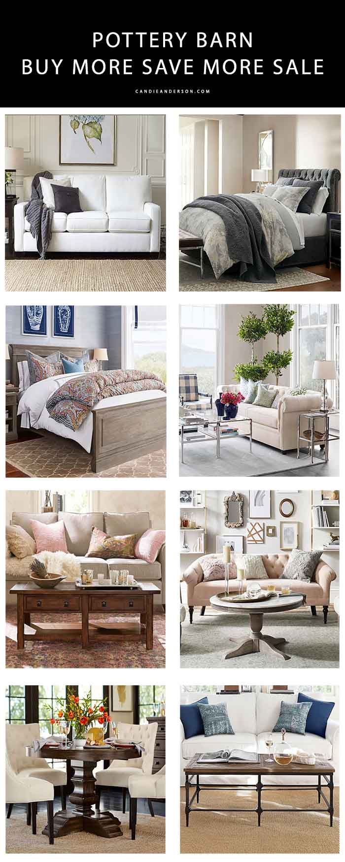 surprising Pottery Barn Savemore Part - 12: 20 Pottery Barn Furniture Essentials At Up To 30% Off | Pottery barn  furniture