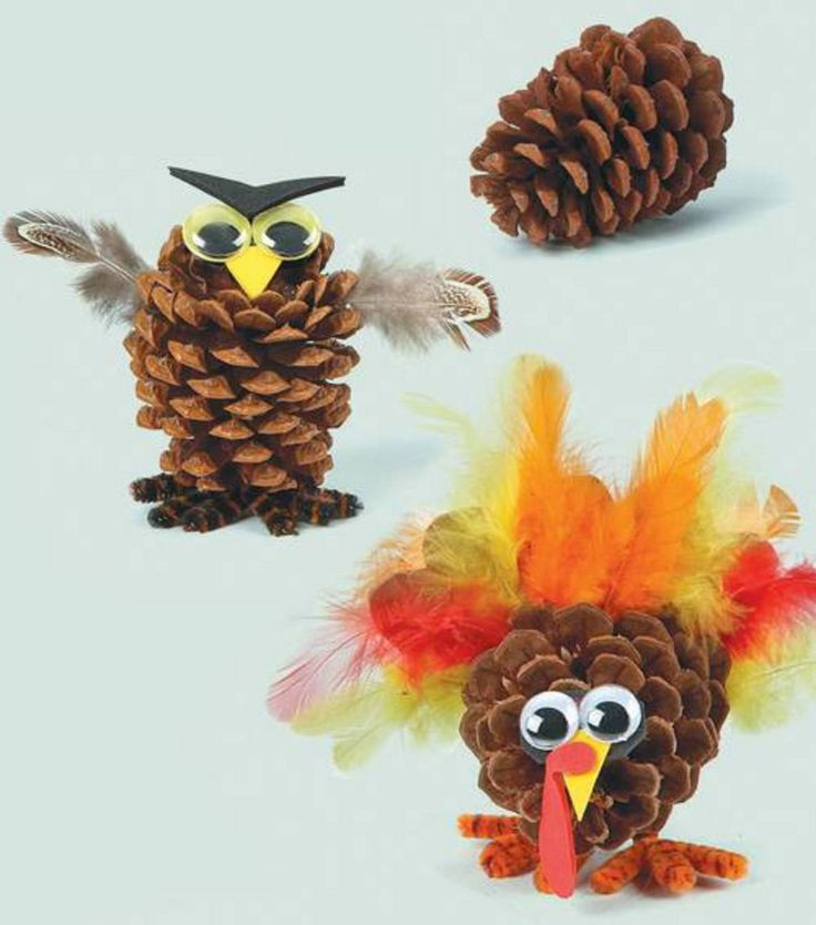 25 best images about holidays thanksgiving on pinterest for Pine cone crafts for children