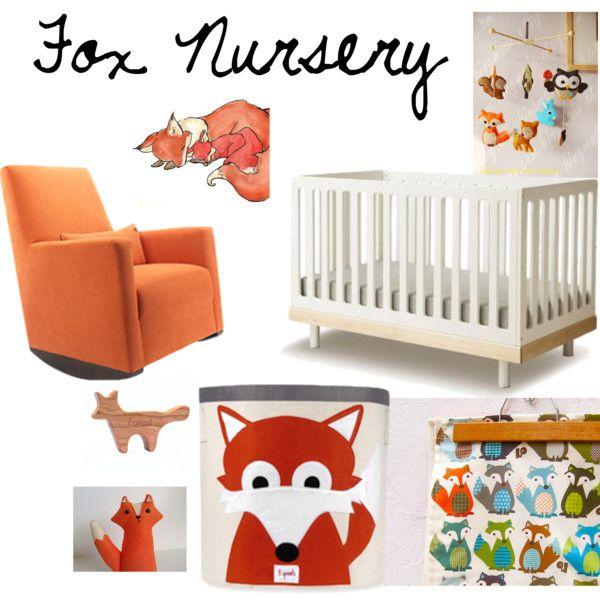 71 Best Fox Theme Nursery Images On Pinterest