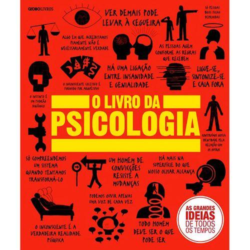 'O Livro da Psicologia' traz um panorama completo e detalhado sobre essa ciência da mente e do comportamento. Nele, a psicologia é abordada a partir de suas raízes filosóficas (desde as reflexões feitas por Descartes, ponto de partida da noção fundamental de subjetividade) e fisiológicas (com destaque para o neurologista francês Jean-Martin Charcot e seu diagnóstico dos mecanismos causadores da histeria)