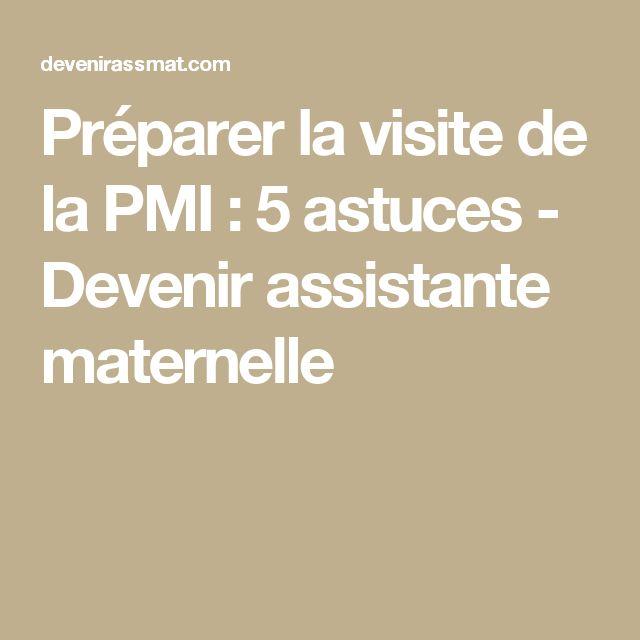 Préparer la visite de la PMI : 5 astuces - Devenir assistante maternelle