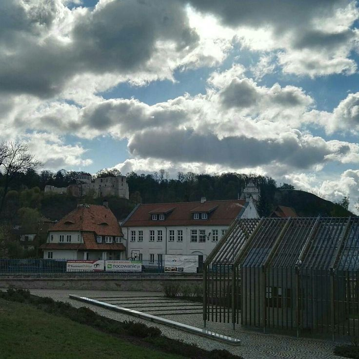 #kazimierzdolny #travel #poland #small #town #landscape #beautiful #clouds #pensjonateger #egerguesthouse #egerkazimierz