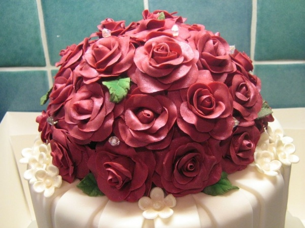 28 Best Ruby Wedding Images On Pinterest Pomegranate Cake - Ruby Wedding Cake Toppers