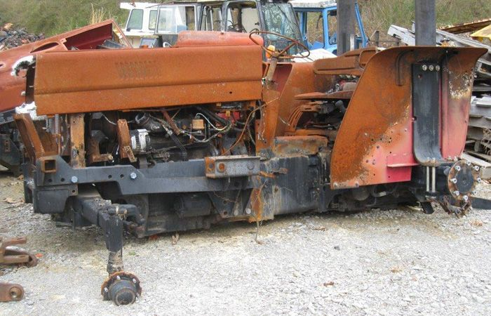 This tractor has been dismantled for International 424 tractor parts.  #International #IH #tractor #parts