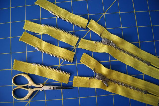 nest full of eggs: Shortening Metal Zippers from the Top Tutorial