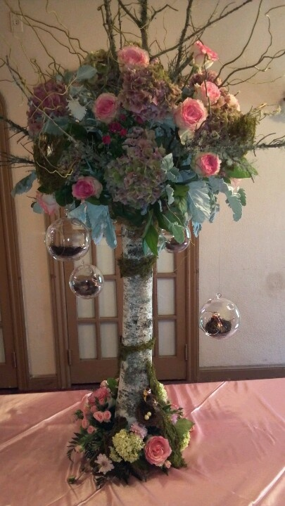 Winter Centerpiece With A Secret : Best ideas about enchanted forest centerpieces on