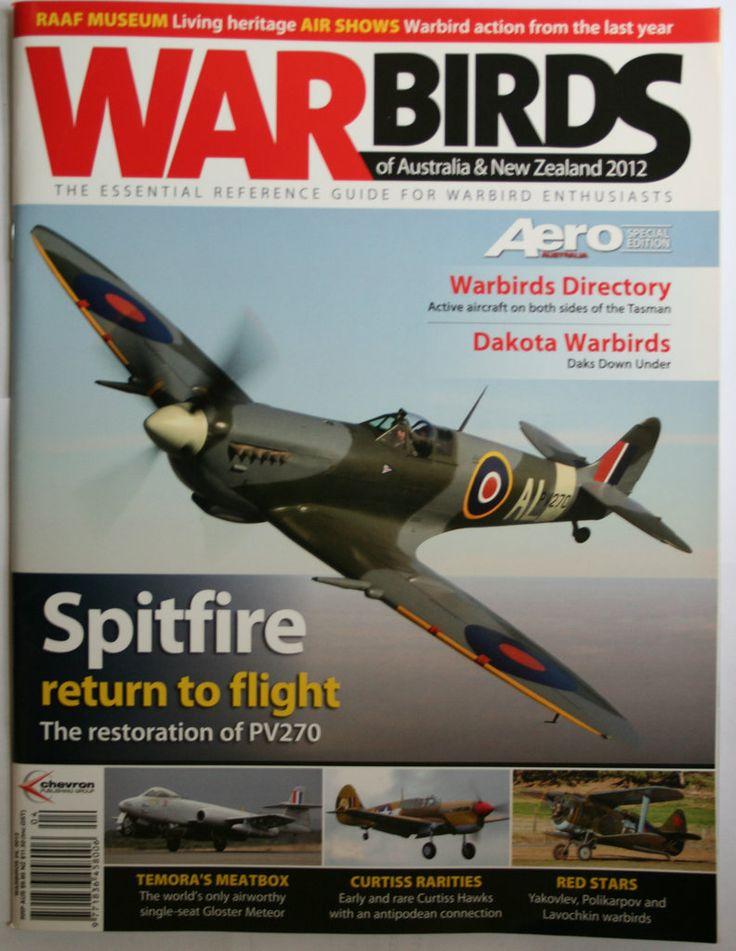 Defence Gifts - War Birds Australia New Zealand  2012, $14.95 (http://www.defencegifts.com.au/war-birds-australia-new-zealand-2012/)