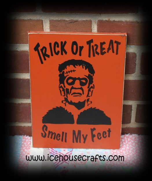 trick or treat smell my feet craft 1000 images about fall wood signs and ideas on 8157