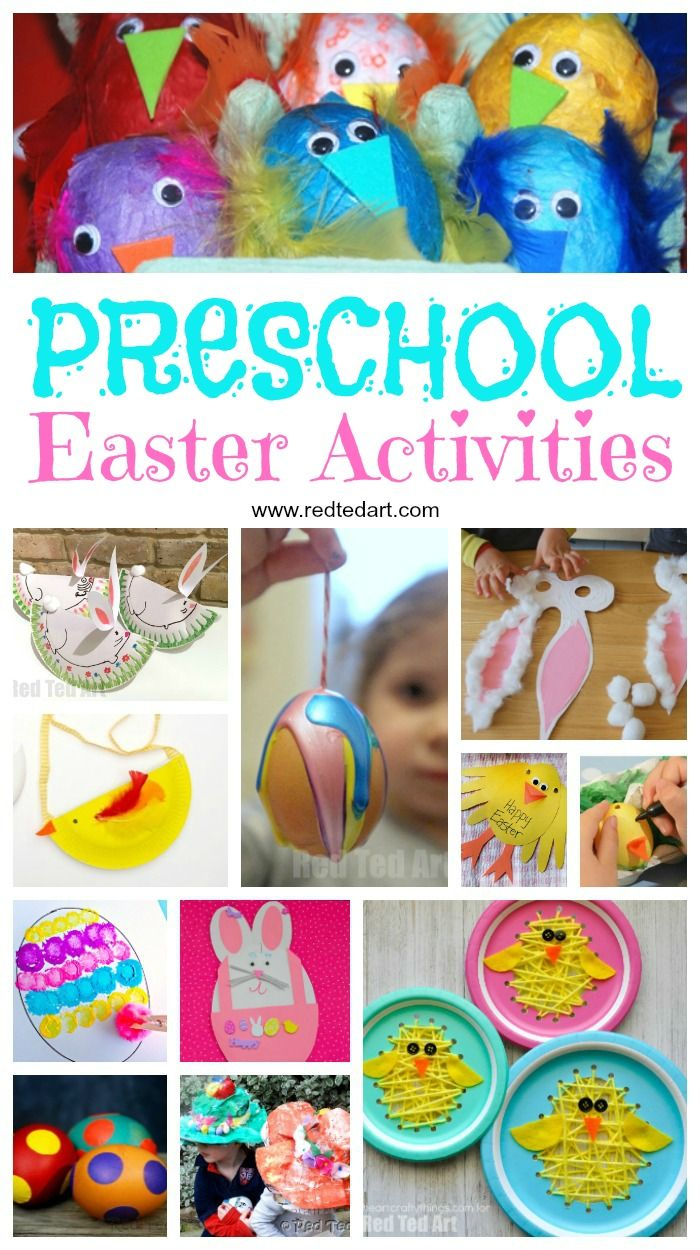 2379 best preschool activities images on pinterest fine for Easter craft for preschool