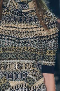 Fairisle Chanel pre fall 2016