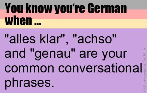 Achso..
