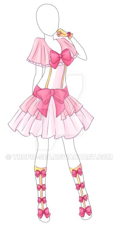 Dress Adoptable 14 - Closed by Tropic-Sea.deviantart.com on @DeviantArt