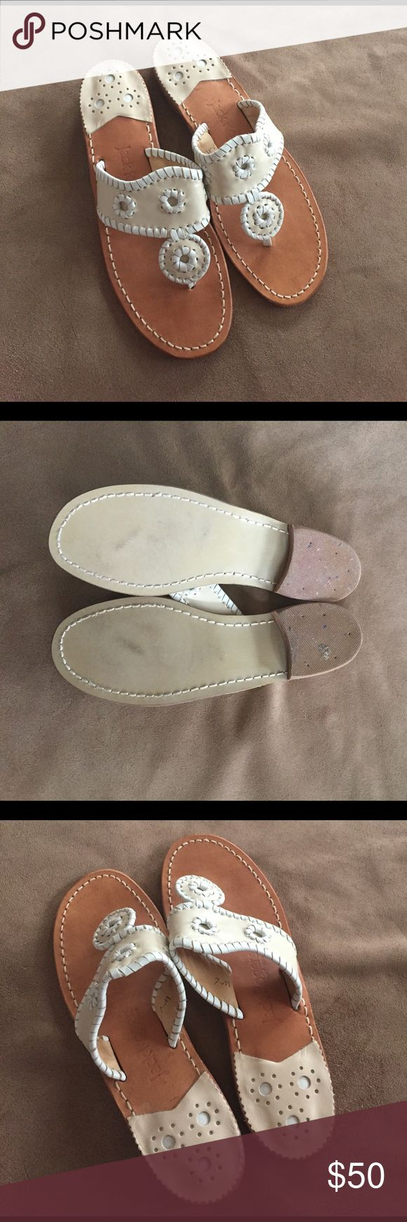Jack Rogers Palm Beach Navajo Sandals Sz 7 Jack Rogers Palm Beach Navajo Sandals Sz 7. Like new! Please ask questions. Thanks for looking!! Jack Rogers Shoes Sandals