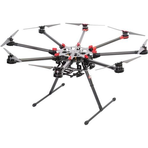 DJI S1000 Spreading Wings Professional Octocopter Supports A2 And WooKong M FCs Flight Controllers