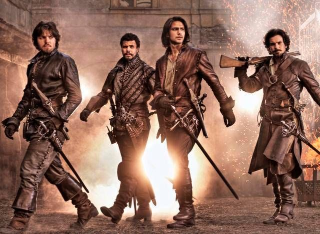 The Top 5 Adventures of The Three Musketeers