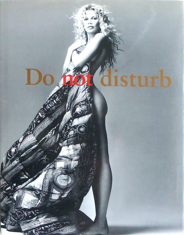 Gianni Versace:  Do Not Disturb  Leonardo Arte 24 Ottobre '95 1995 272 Pag