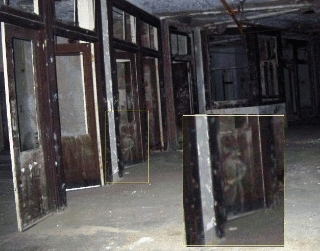 little boy who appears at Waverly Hills sanatorium.