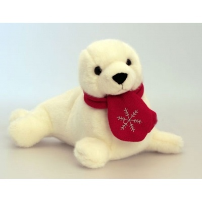 stuffed seal - for a Christmas child!